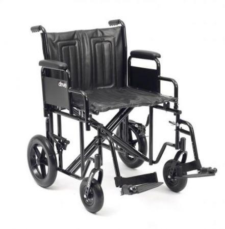 Drive Medical Sentra HD Bariatric Transit Wheelchair