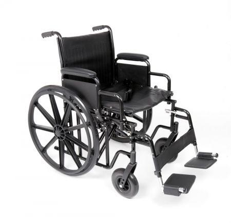 Ugo Atlas Bariatric Steel Self Propelled Wheelchair