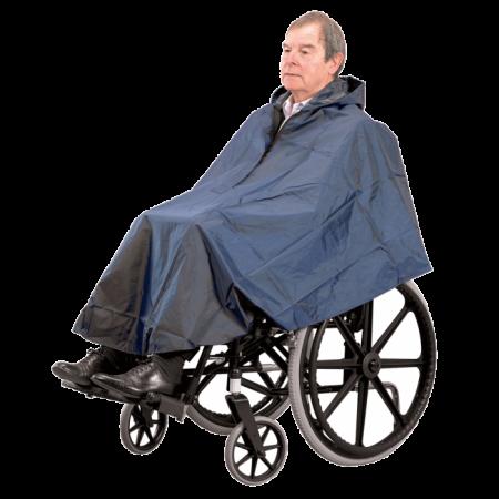 Weatherproof Wheelchair Rain Cape