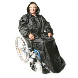 Rain cape for wheelchairs