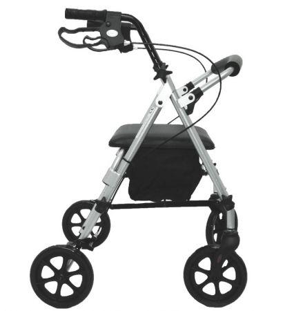 Z-Tec Folding Lightweight Compact Rollator