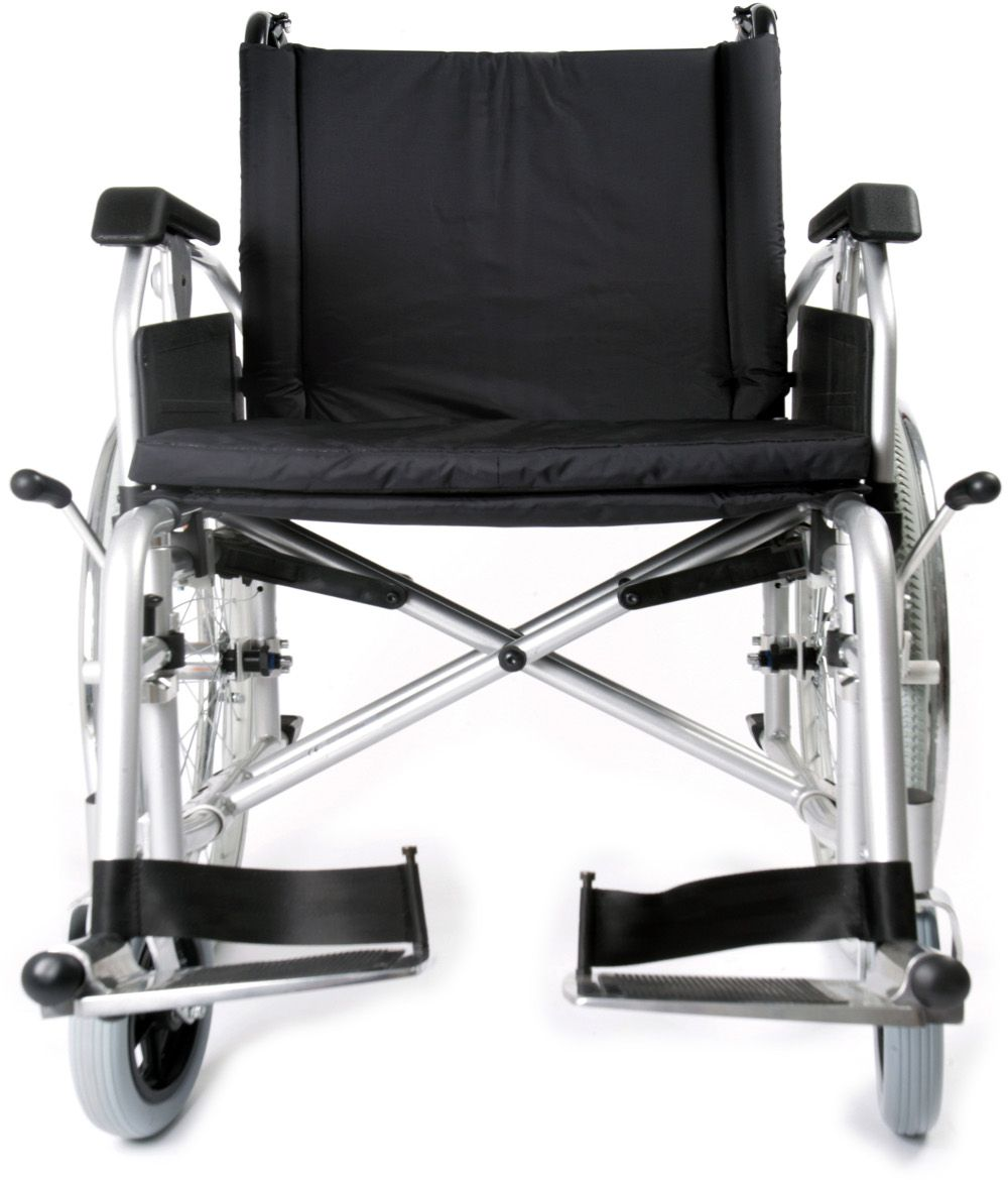 Esteem Bariatric Self Propelled Wheelchair front view