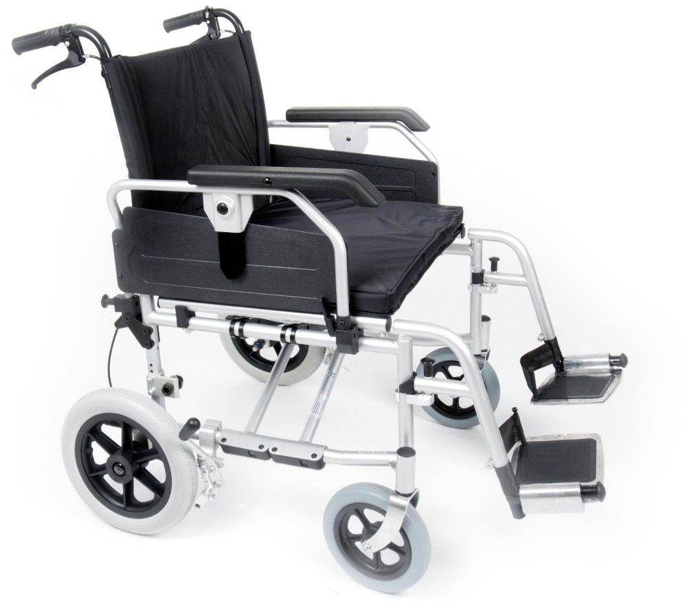 Esteem Heavy Duty Bariatric Transit Wheelchair Side View