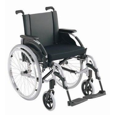 Invacare Action3 self propelled manual wheelchair side view