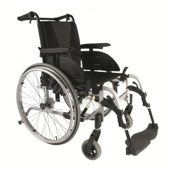 Invacare action 4ng self propelled wheelchair