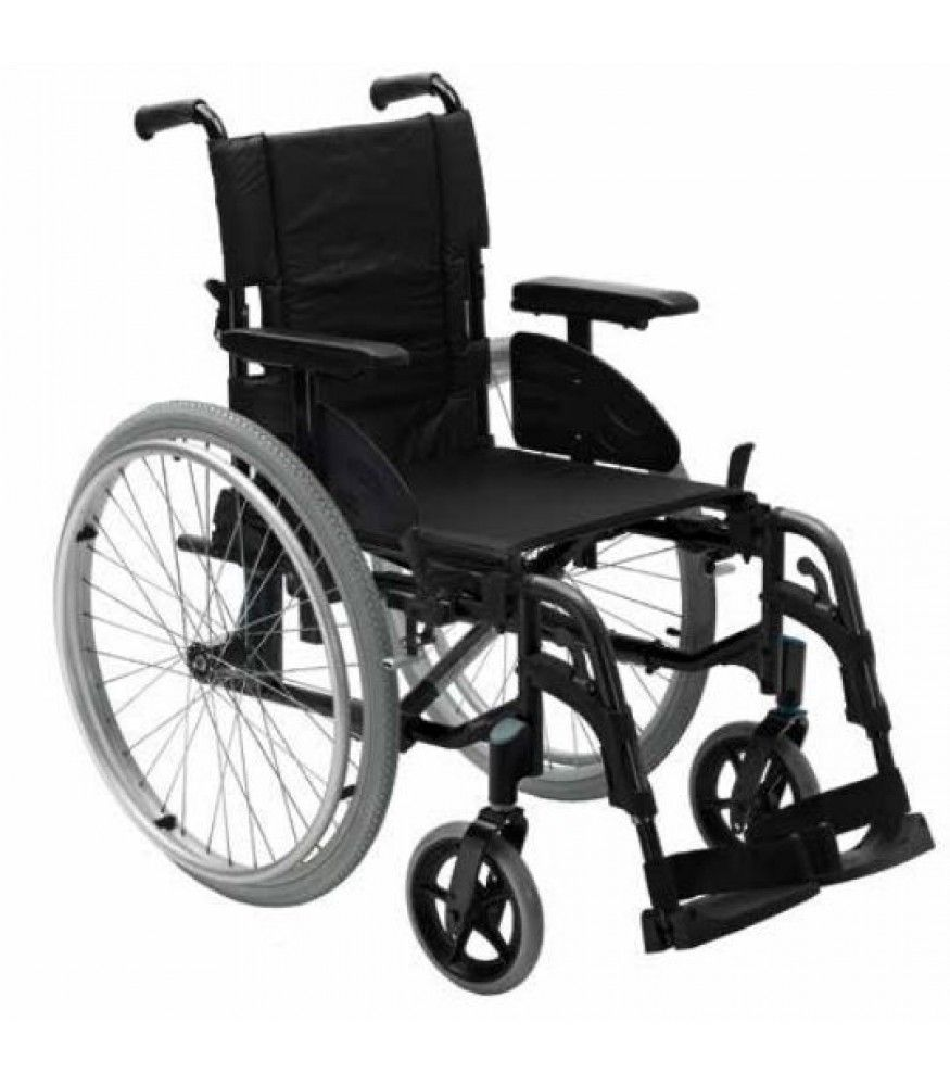 Invacare Action 2 NG Self Propelled Wheelchair Side View