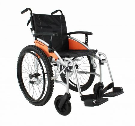 Van Os Excel G-Explorer Folding Wheelchair