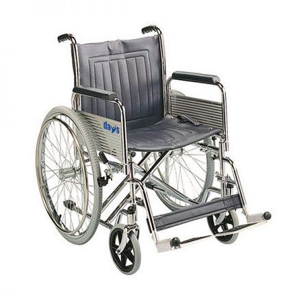 Days Healthcare Heavy Duty Self Propelled Steel Wheelchair