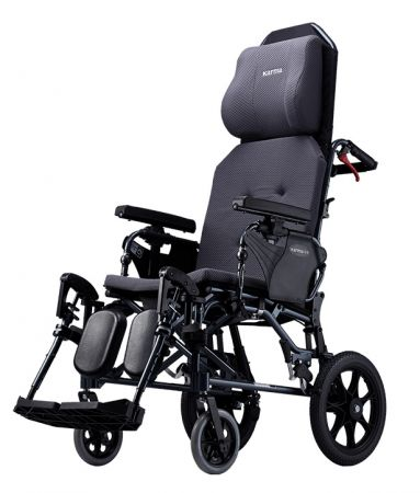 Karma MVP 502 Reclining Wheelchair with V Shaped Seat
