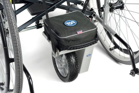 TGA Wheelchair Power Pack with a Single Drive Wheel
