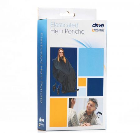 Wheelchair Poncho With Elasticated Hem