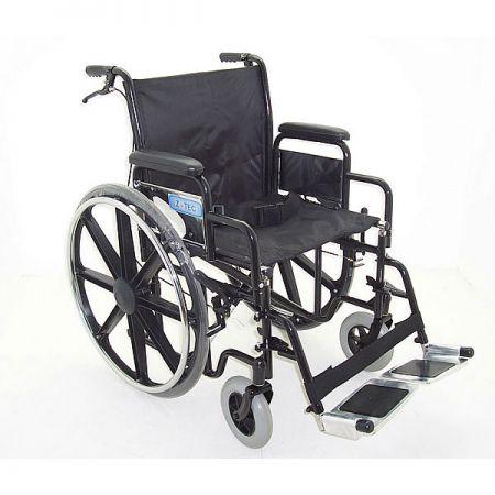 ZT 600-692 extra wide bariatric steel wheelchair