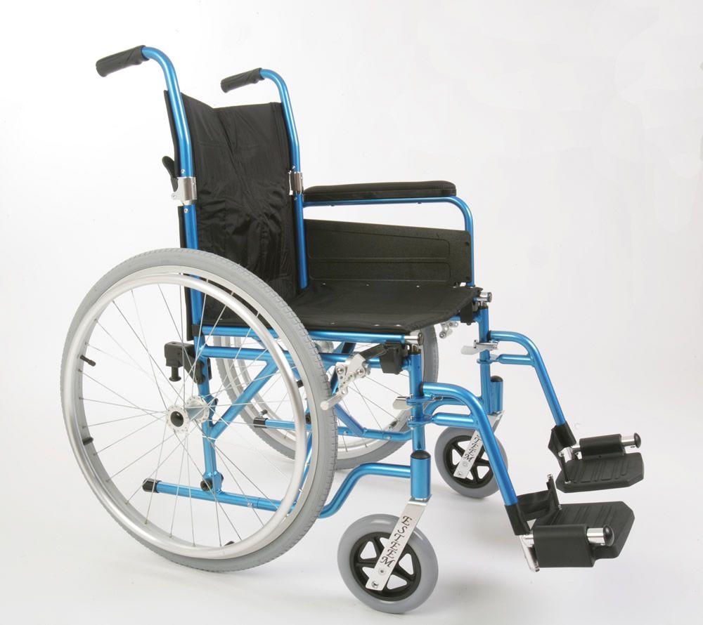 Esteem Self Propelled Folding Alloy Lightweight Wheelchair Side View