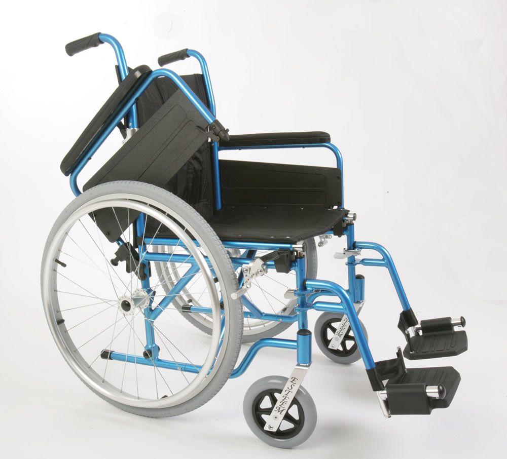 Esteem Self Propelled Lightweight Wheelchair With Flip Up Armrests