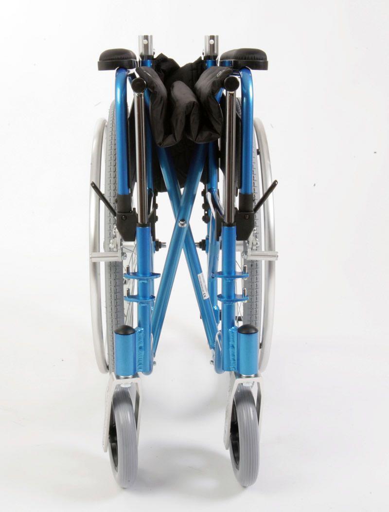 Esteem manual Lightweight Wheelchair Shown Folded