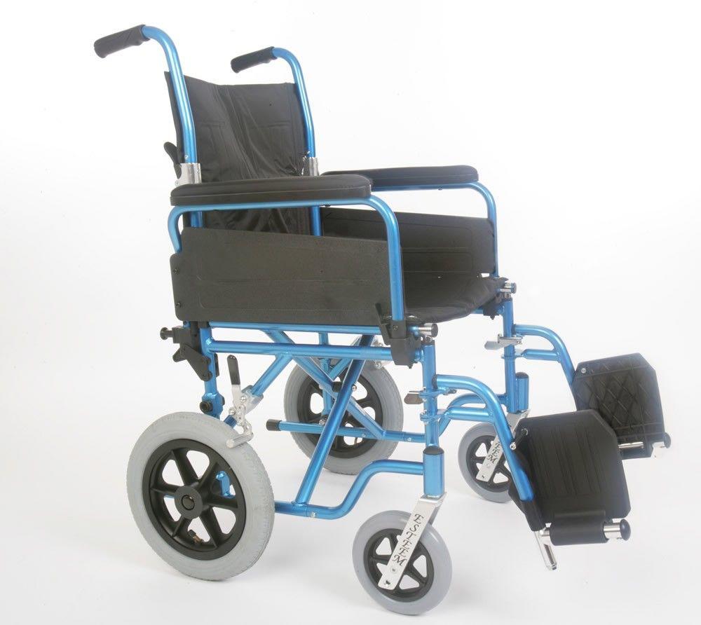 U-Go Esteem Alloy Transit Wheelchair Side View