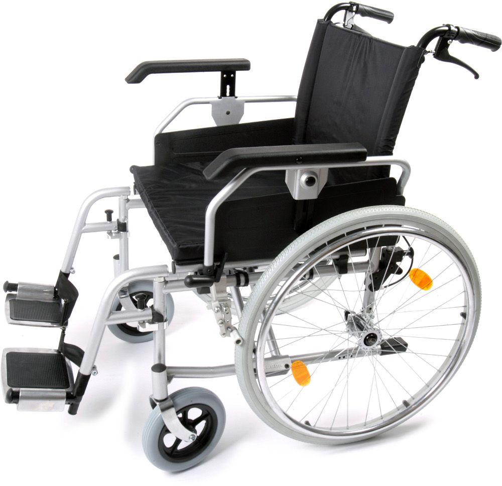 Heavy Duty Self Propelled Wheelchair side view