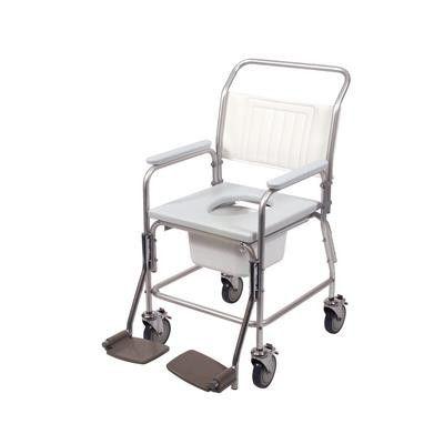 Days Homecare Aluminium Shower Commode Chair