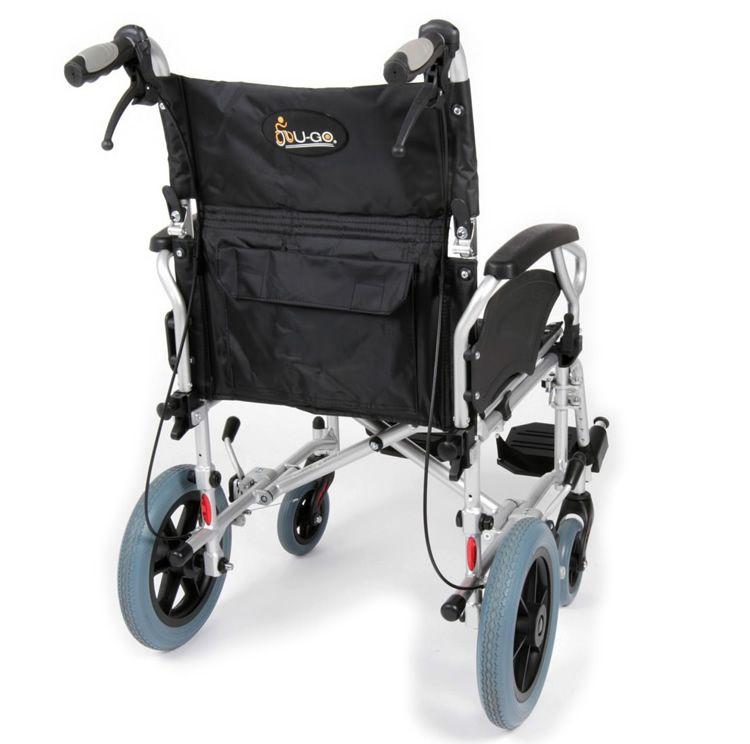 Esteem Lightweight Transit Wheelchair Rear View