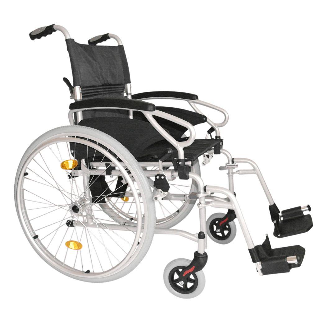 Esteem Eclipse Ultra Lightweight Self Propelled Wheelchair Side View