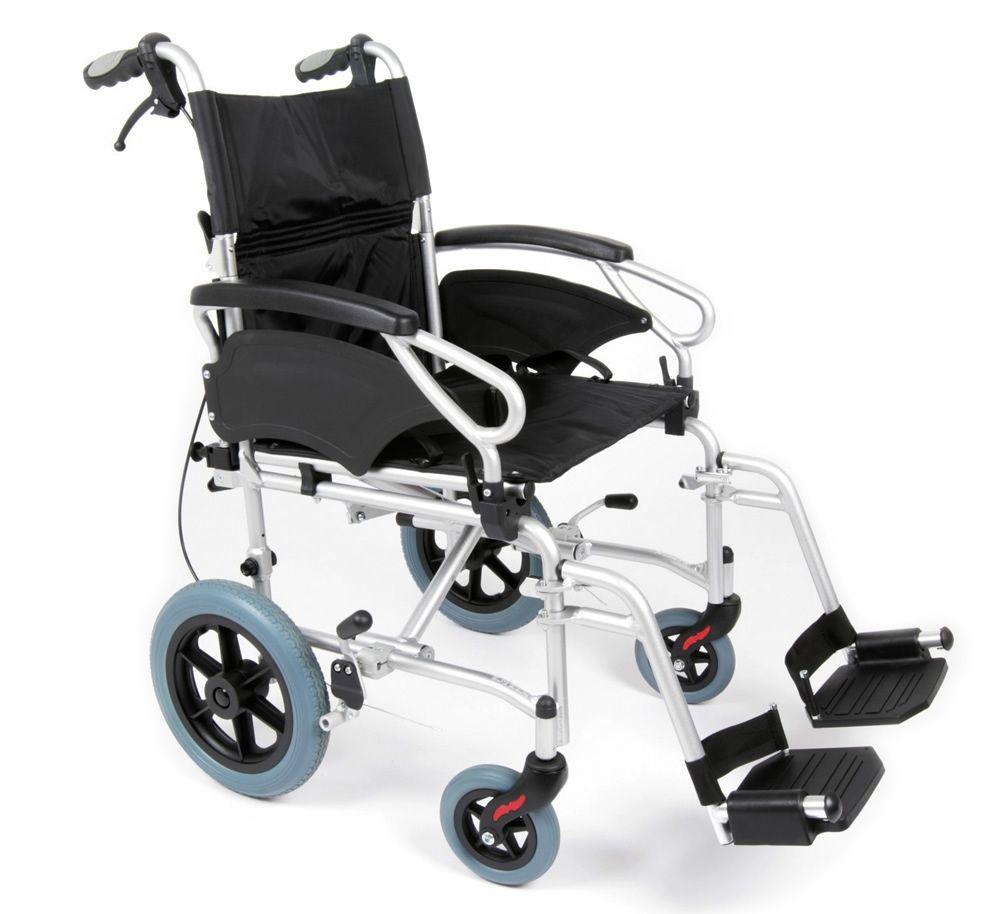 Eclipse Ultra Lightweight Transit Wheelchair Side View