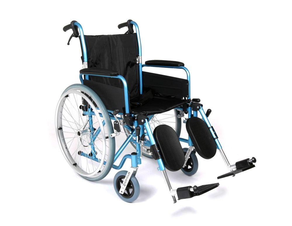 Aluminium elevating leg rest for UGO wheelchairs