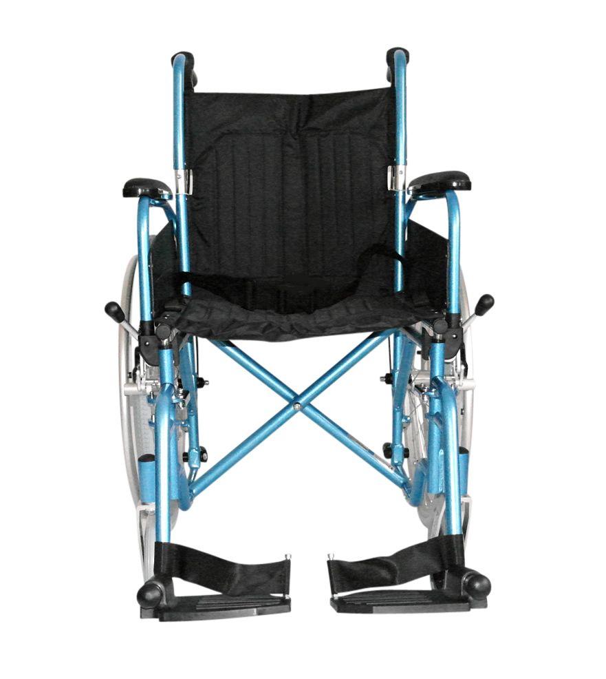 Esteem Lightweight Self Propelled Folding Wheelchair Front View of Chair