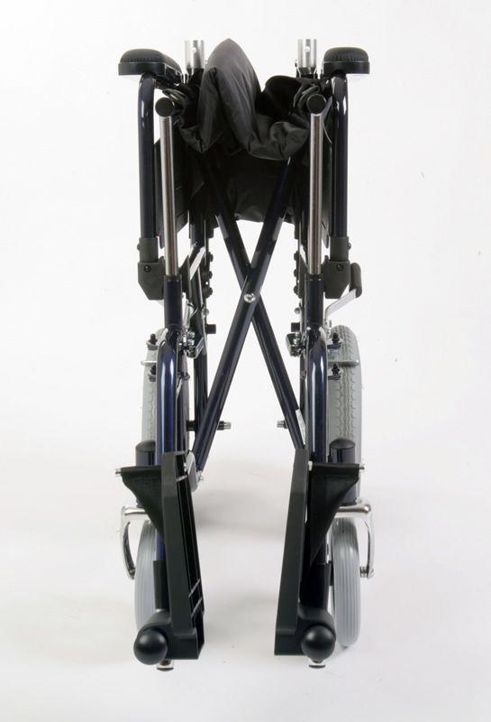 U-Go Esteem Steel Transit Wheelchair folded