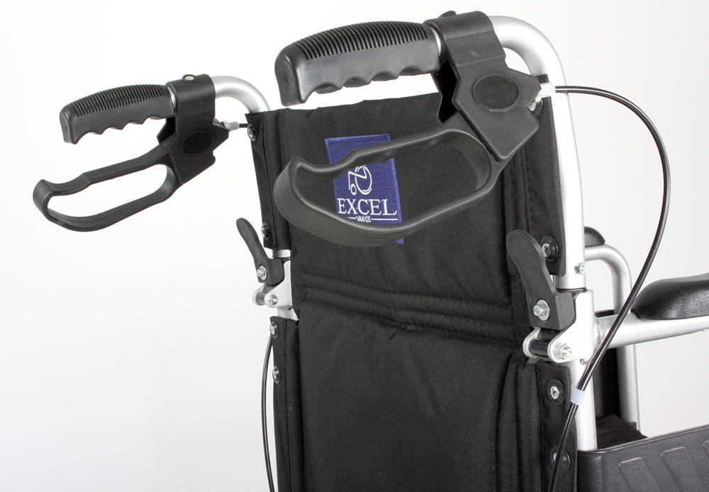 Excel Globetraveller Wheelchair Brakes