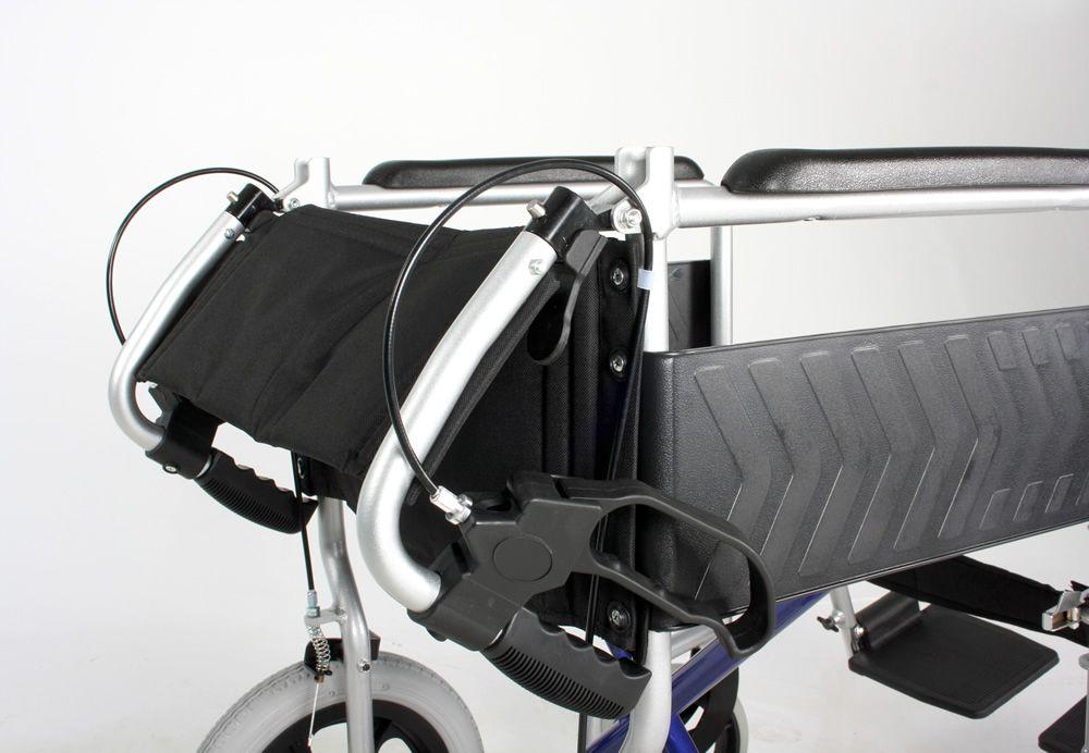 Excel Globetraveller Wheelchair Folded