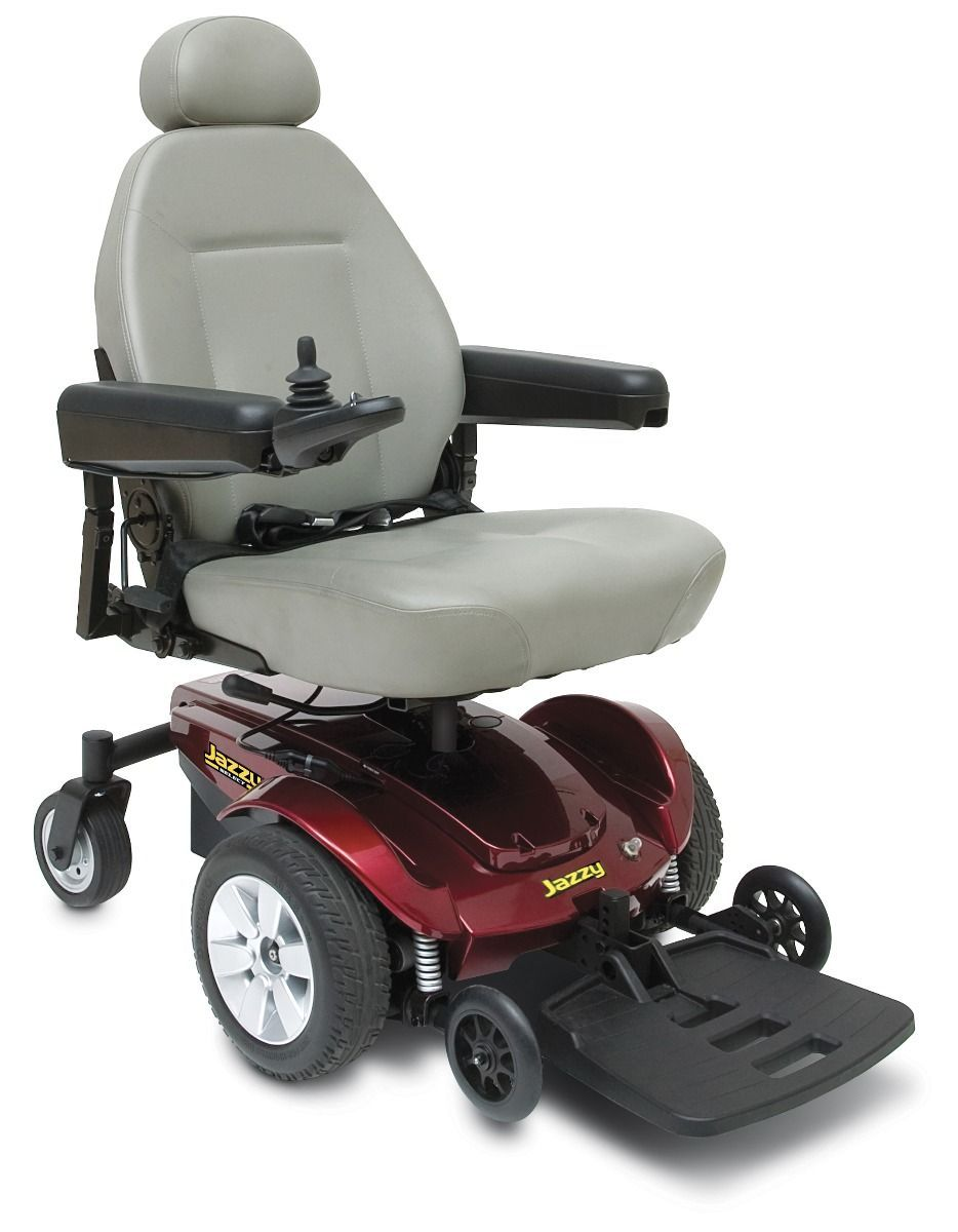 Jazzy Select Power Chair Electric Wheelchair