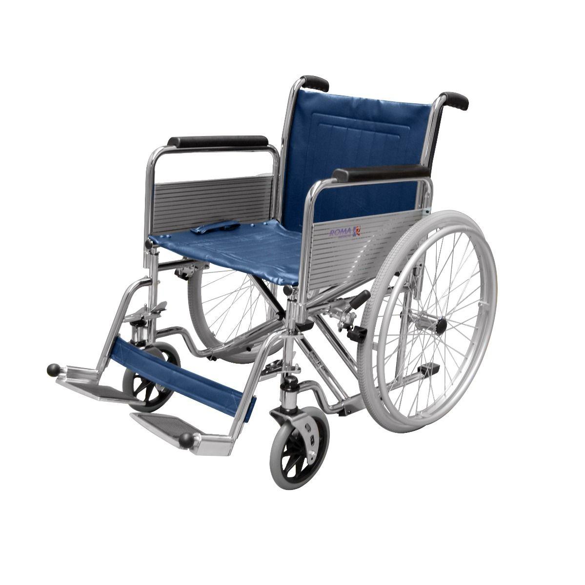 Roma Medical 1472 XDHeavy Duty Bariatric Wheelchair Side View