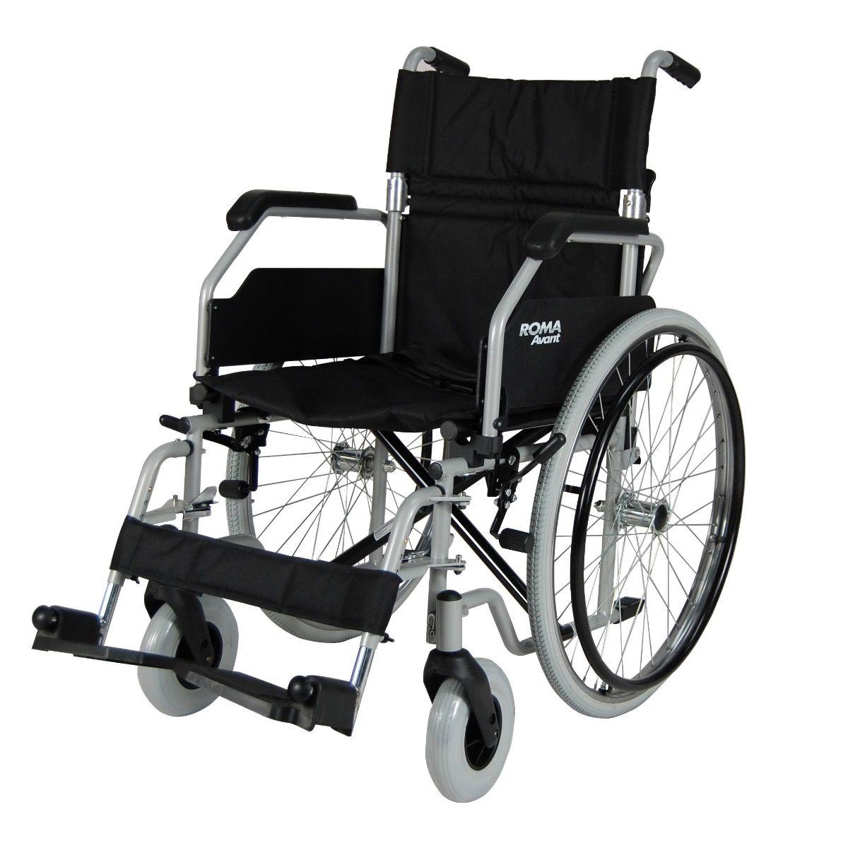 Roma Avant Car Self Propelled Wheelchair Side View