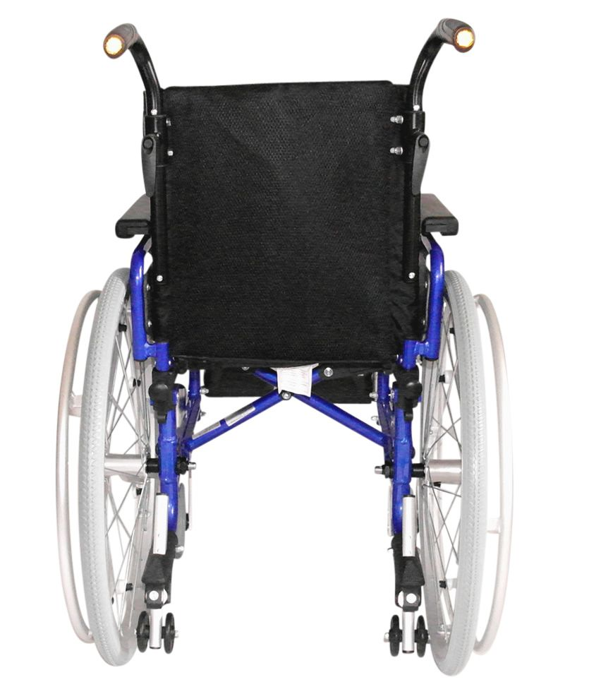 UGO Sprite Paediatric Wheelchair shown from the rear