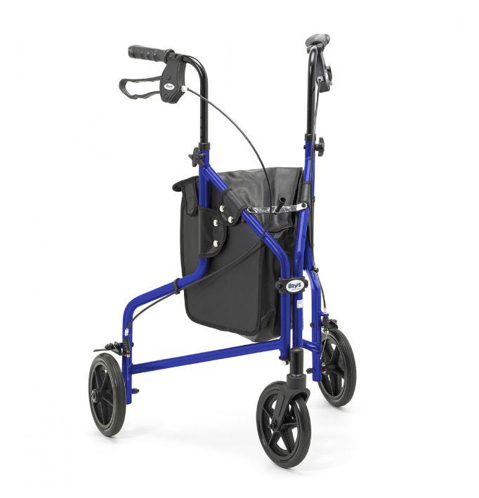 Days Lightweight Aluminium Tri Wheel Walker