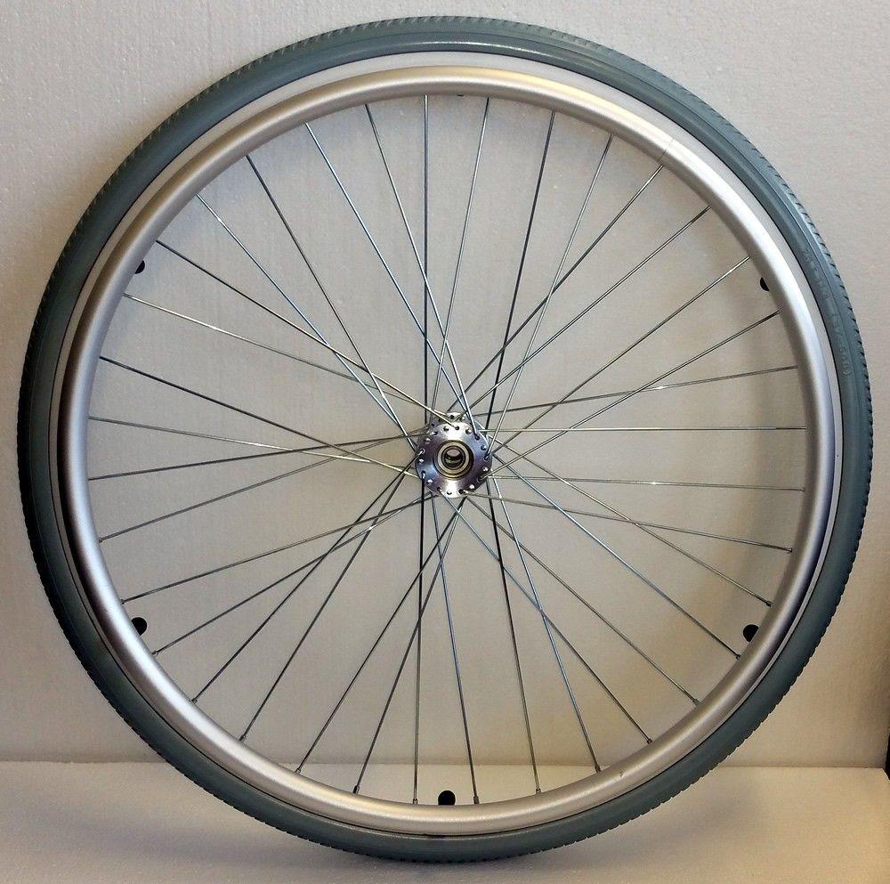 Replacement wheelchair wheel pneumatic