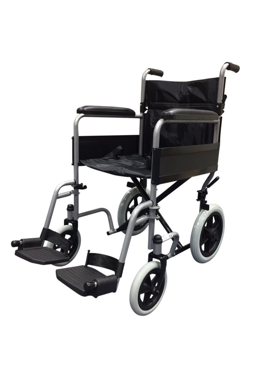 Z-Tec 600-604 Budget Transit Wheelchair Side View