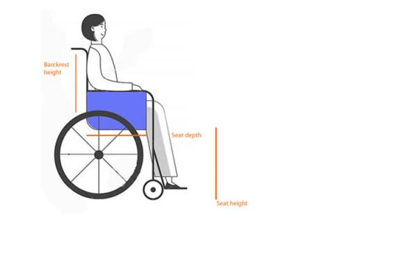 Wheelchairs for tall people